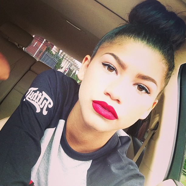 Zendaya Learnt How to Style Her Hair by Watching YouTube Videos