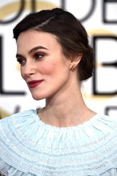 """Keira Knightley Wore Her """"Dream"""" Chanel Dress to Golden Globes"""