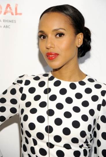 Kerry Washington Likes Playful Red Carpet Choices